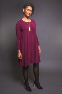 Closet Case Patterns - Ebony t-shirt and dress $30